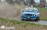 Spektakel primeert in TBR Rallysprint - Didier Spillebeen & Benny Aeck