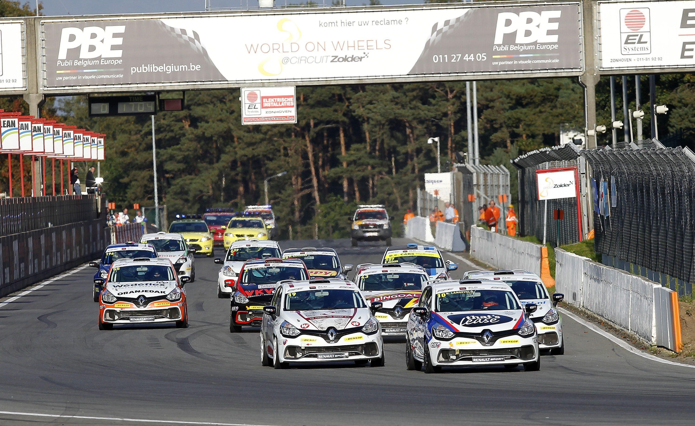Renault Clio Cup Benelux deelt piste met TCR Benelux, maar behoudt eigen klassementen