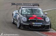 Dubbel podium voor Roger Grouwels in de Porsche GT3 Cup Challenge Benelux
