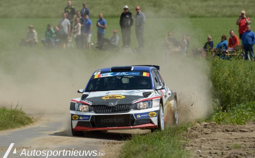 De Kenotek Ypres Rally in de Tour European Rally 2017