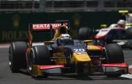GP2 Baku: Giovinazzi voor de dubbel na ontspoorde sprintrace