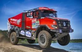 'Hoog bezoek' voor Mammoet Rallysport in Marokko.