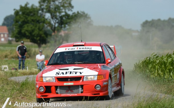 ED Rallyteam ook in East Belgian Rally als safety wagen