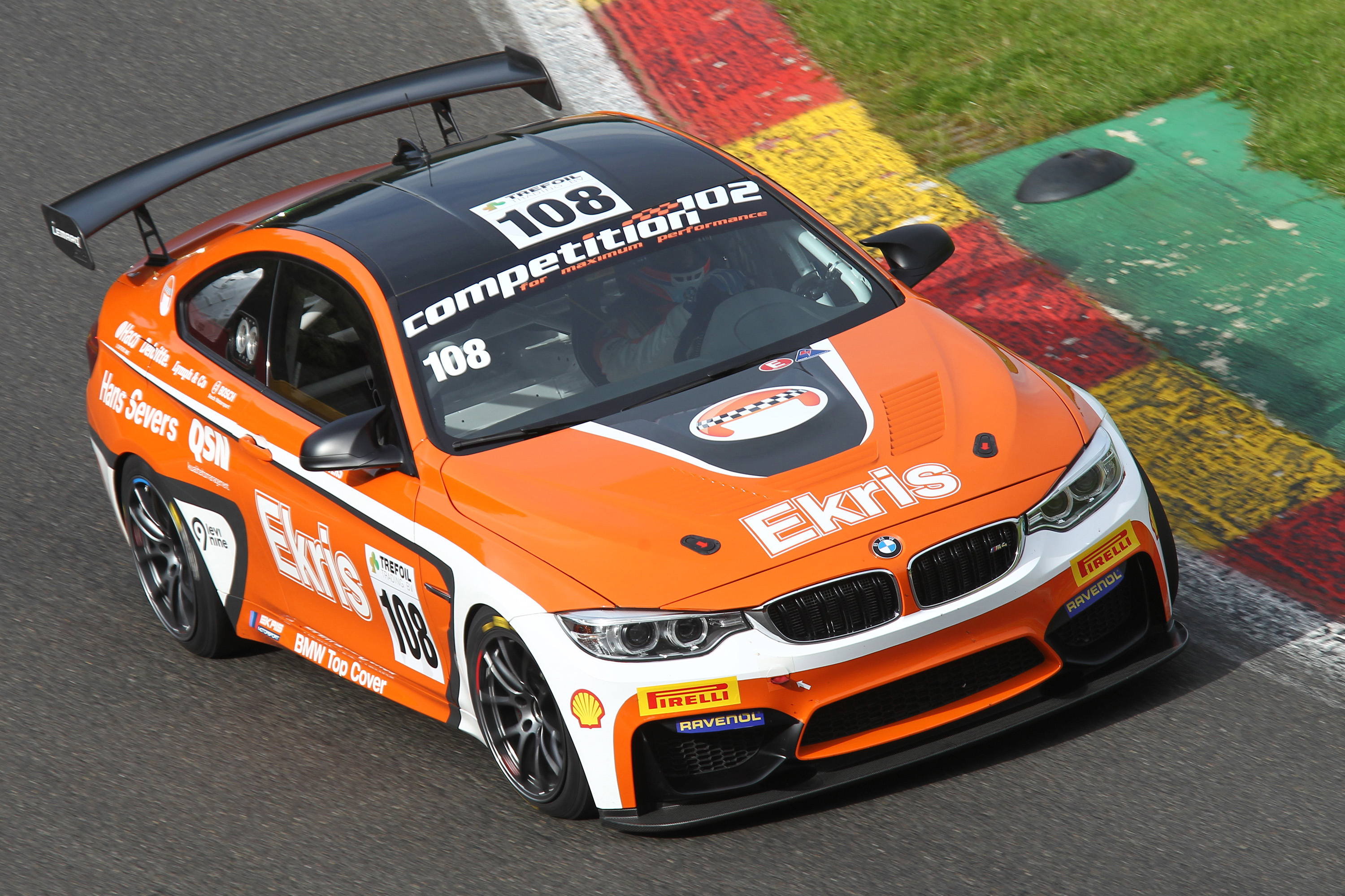 Racing Team Holland by Ekris Motorsport ondanks snelheid met lege handen in Spa