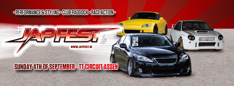 Zondag 4 september - JapFest, powered by AKR op TT Circuit Assen