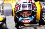 """Verstappen derde in Duitse GP: """"Blij om op het podium te staan"""""""