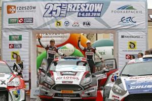 AUTO - ERC RALLY RZESZOWSKI 2016