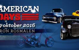 8 en 9 oktober: All American Days in Autotron Rosmalen