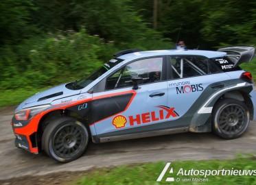 Test WRC Duitsland Hyundai