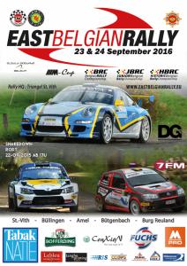 logo east belgian rally 2016