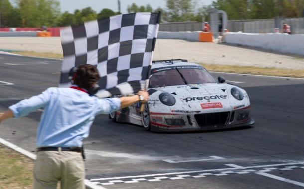 Derde overwinning op rij voor Precote Herberth Motorsport