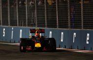 Verstappen zesde in GP van Singapore: