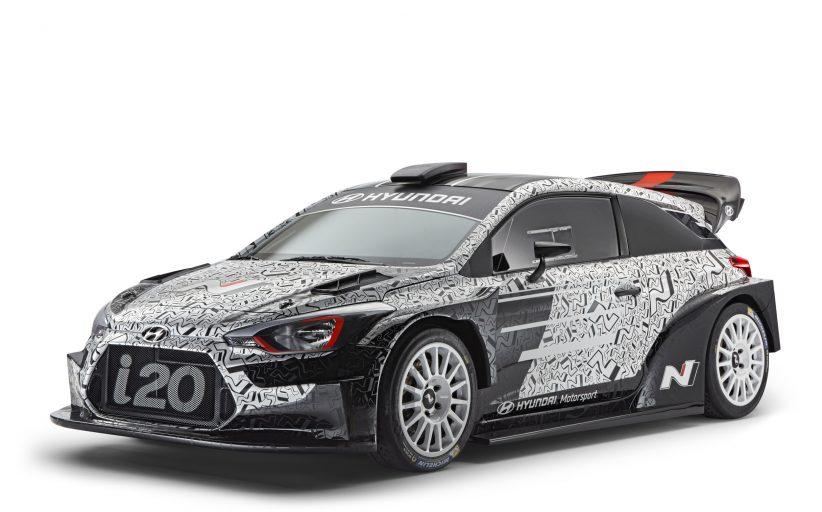 Hyundai Motorsport presenteerd hun preview op de nieuwe 2017 i20WRC op de Paris Motor Show