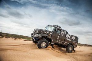 De nieuwe 4326-Kamaz, hier nog in zwarte Prototype kleuren ©snaplab.com