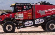 Mammoet Rallysport worstelt met tegenslag, maar komt boven