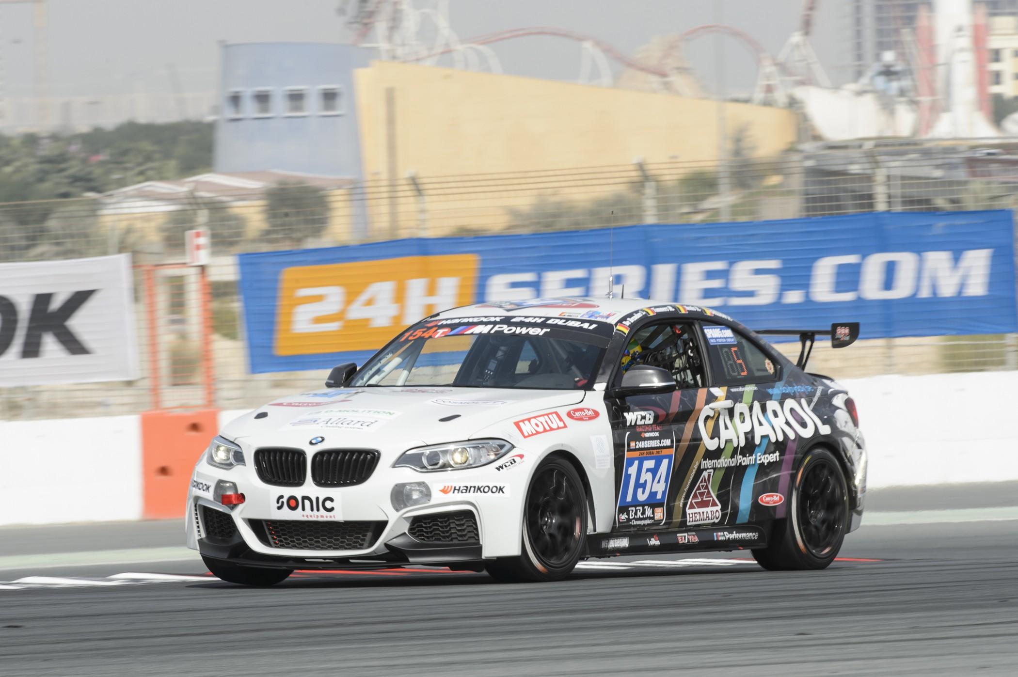 Pechduivel houdt QSR Racing van een podiumplaats in 24H Dubai