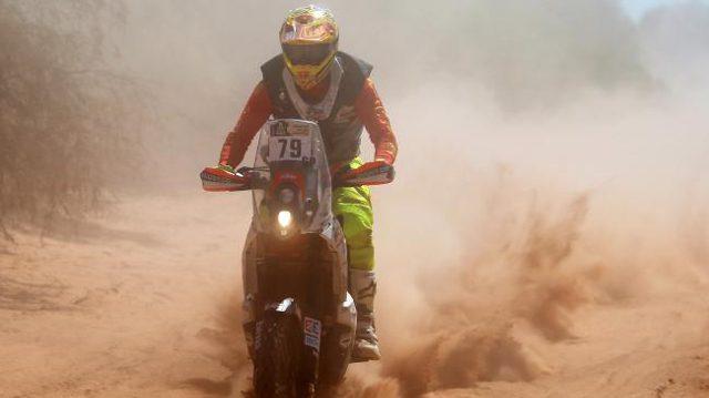 ondanks een goed eerste deel helaas toch een uur tijdverlies voor amateur Todd Smith © mcn.com.au