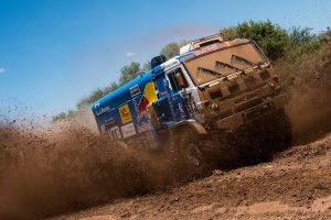 Nu snappen we waarom sommige trucks een herder nodig hebben met navigeren © Marcelo Maragni/Red Bull Content Pool