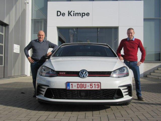 Een nieuwe VW Golf TCR voor DK Racing
