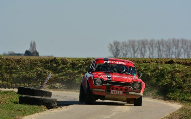 Koen Verhaeghe opent met zege in Ford Pinto Cup - Rally van Hannuit