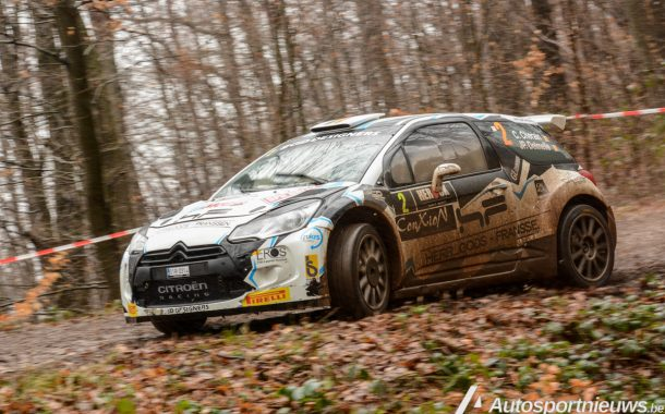 Cedric Cherain wint in extremis Spa Rally na sortie van Kris Princen!