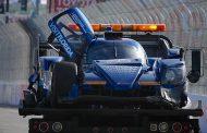 Raceweekend Renger van der Zande op Long Beach eindigt vroegtijdig na harde crash
