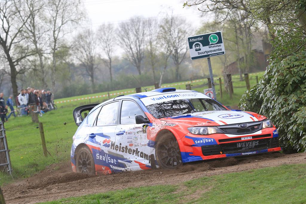 Erik Van Loon wil zijn titel verdedigen met de Subaru Impreza S14 WRC - ELE Rally