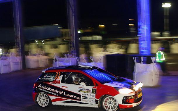 Roald Leemans zet tandje bij in Centraal Nederland Rally