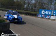 Ook de tweede wedstrijd van het NK Rallycross werd onder zonnige omstandigheden verreden op het Eurocircuit