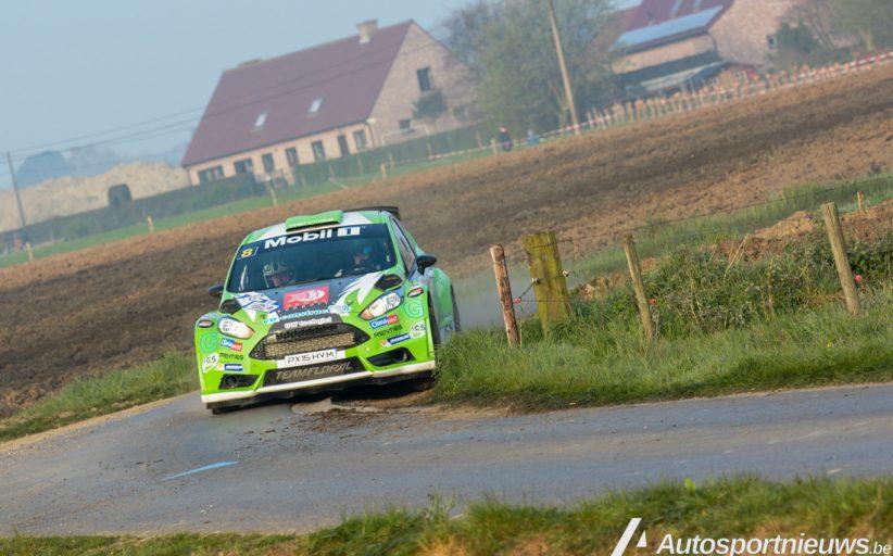 Nog een stapje sneller proberen te zijn ... Polle Geusens - Rally van Wallonië