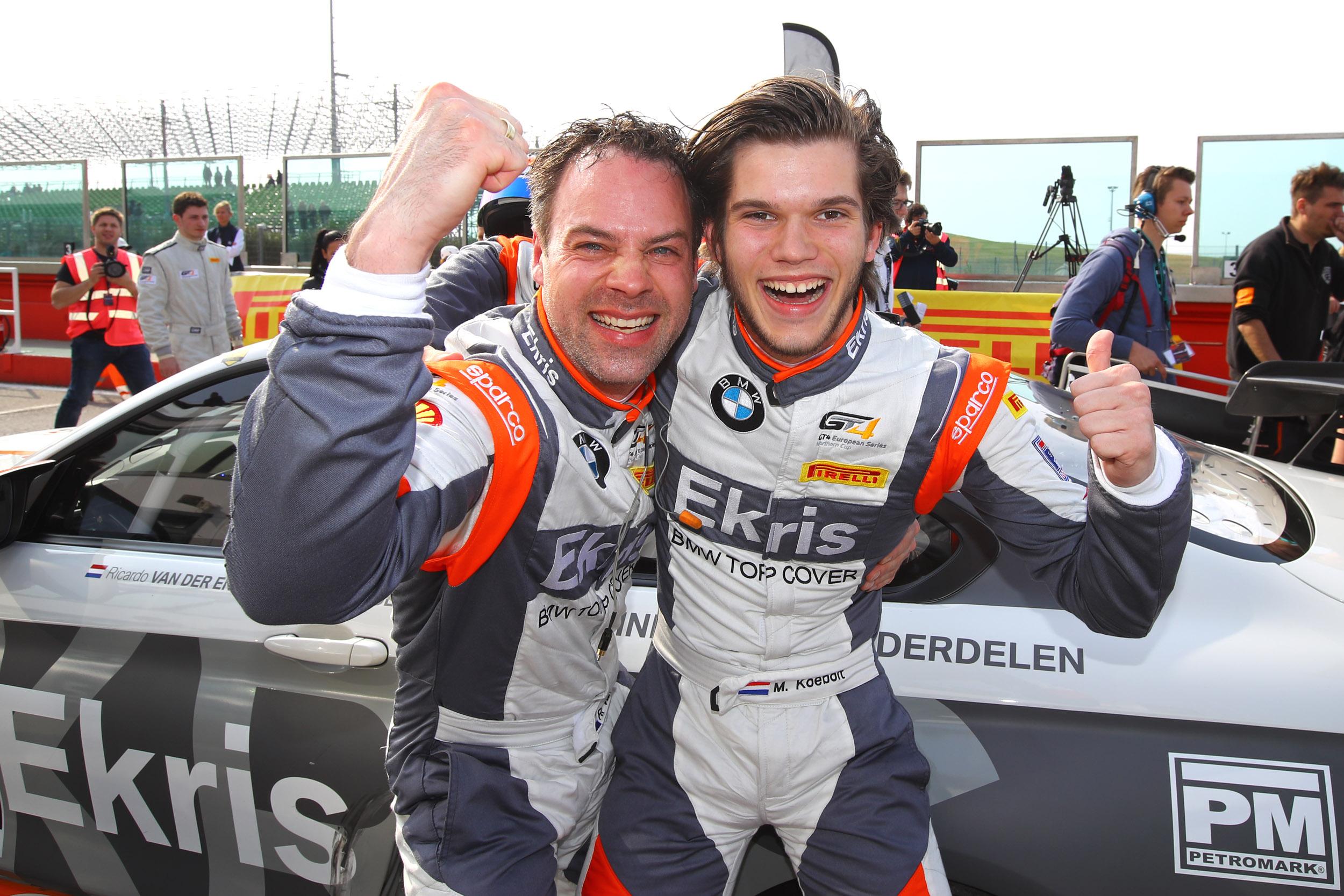 Missie geslaagd: Ekris Motorsport begint GT4-seizoen met twee podiumplaatsen in Misano