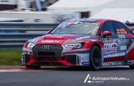 Stan van Oord worstelt met afstelling TCR Audi op Circuit Zolder