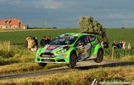 Polle Geusens foutloos naar een knappe 9de plaats in Ypres Rally 2017