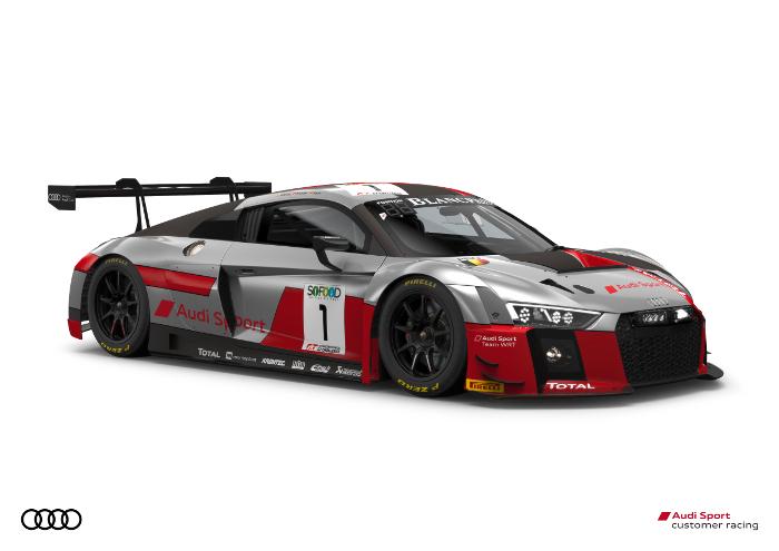 Zes wagens en negentien rijders voor Belgian Audi Club Team WRT in de Total 24 Hours of Spa