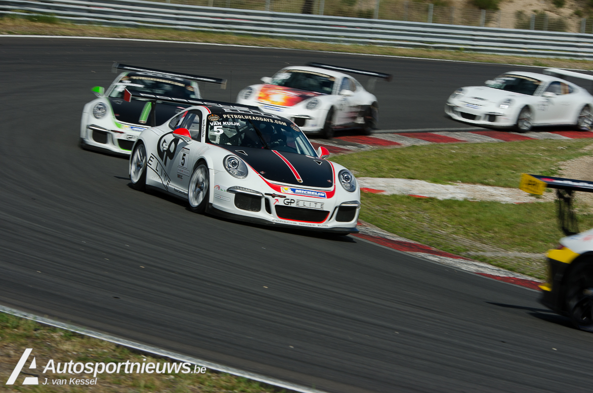 Strand, maar geen vakantie voor de Porsche GT3 Cup Challenge Benelux