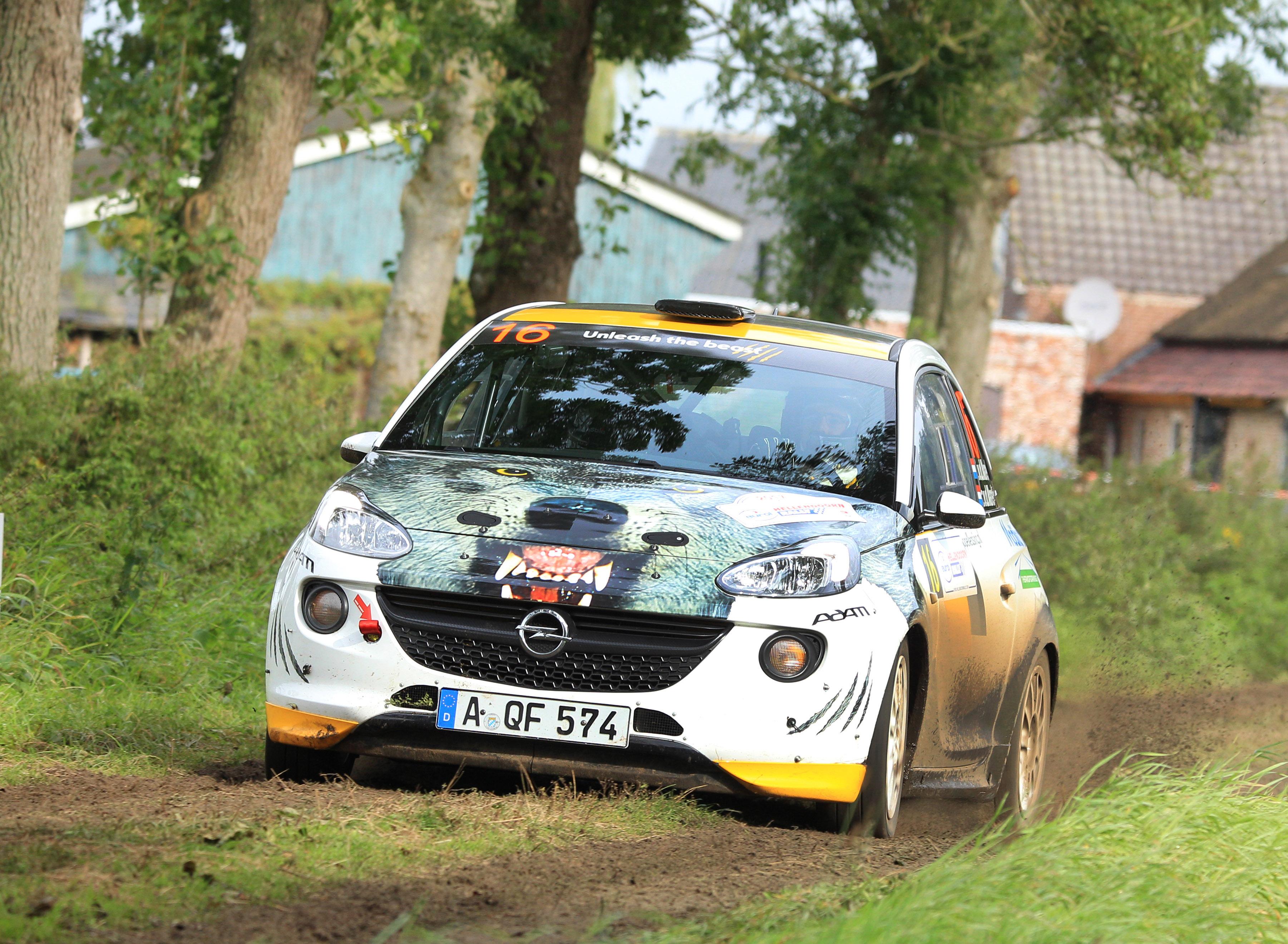 Timo van der Marel sluit rallyseizoen in stijl af