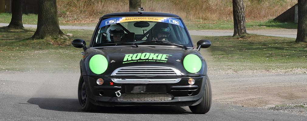 Rookie Rally Team manifesteert zich in de rallycross