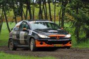 Geert ter Harmsel winnaar 206 Rally Cup in Hellendoornrally