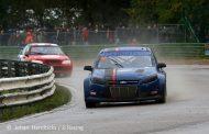 Zege voor JJ Racing tijdens de slotmanche van het BK Rallycross!