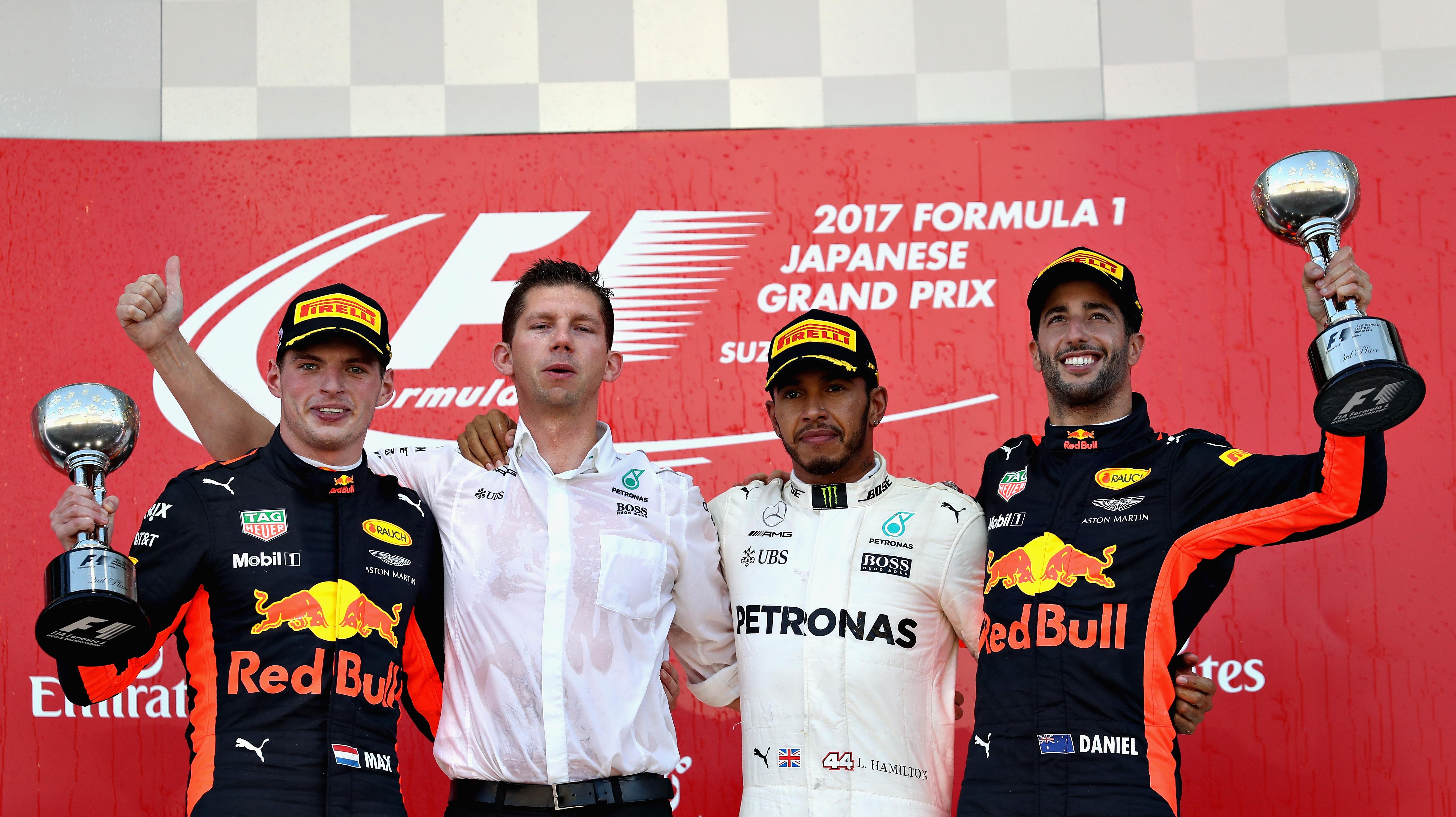 """Max Verstappen tweede in Japanse GP: """"Een geweldige dag!"""""""
