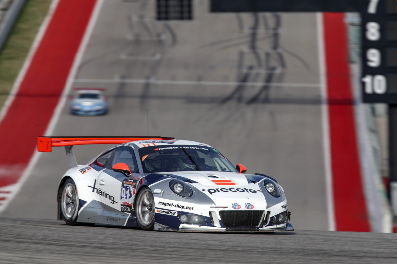 Herberth Motorsport behaalt titel met zege in Hankook 24H COTA USA 2017