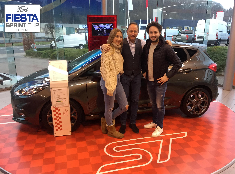 Ford Vanspringel Automobiles tekent voor deelname aan Ford Fiesta Sprint Cup