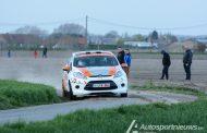 Johan Depredomme met een Fiesta R2 in de 45ste editie van de TAC Rally