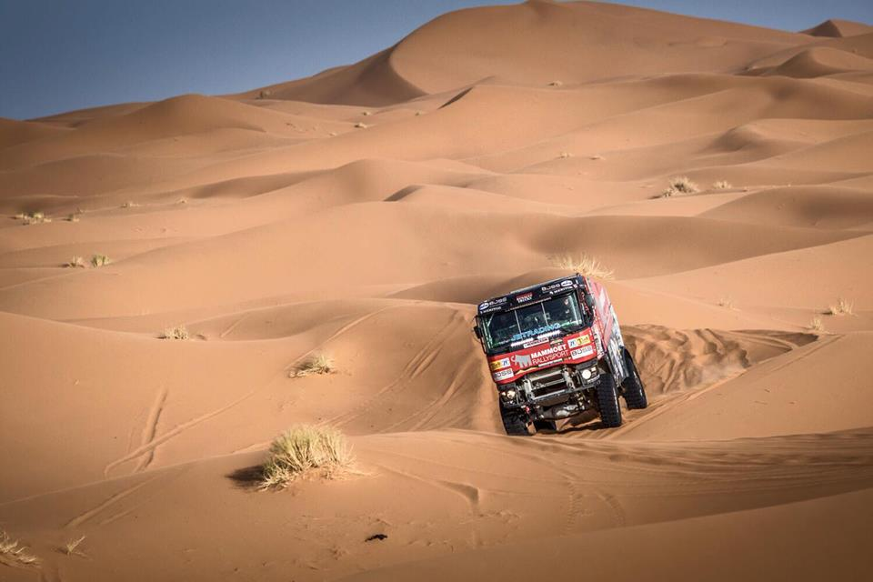 Mammoet Rallysport doet volop mee in dans om seconden