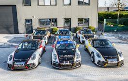 Belgium Racing vertrouwt op Porsche-armada