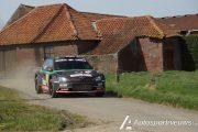 Vincent Verschueren jaagt op punten in de Rally van Wallonië