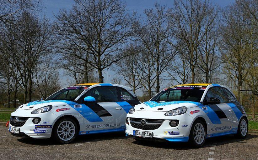 Eerste krachtmeting voor Rallysport Utrecht in Opel Rallye Cup