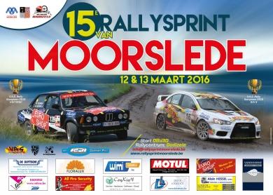 Eerste info + affiche Rallysprint van Moorslede