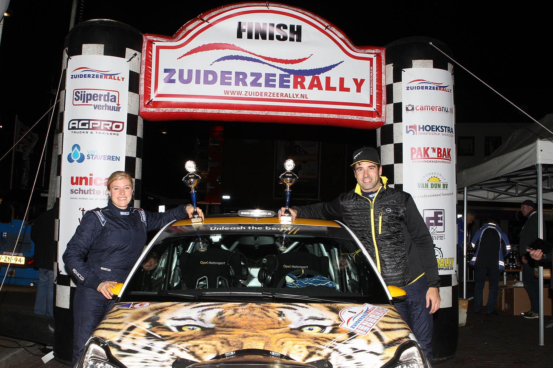 Timo van der Marel wint eerste rally van seizoen met ADAM R2