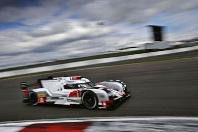 Audi pakt podium en blijft aan de leiding